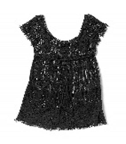 Coco + Carmen Ashbury Cap Sleeve Top - Black