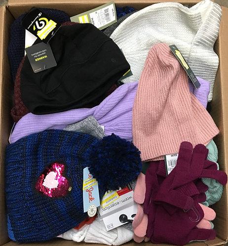 Case Lot of Winter Wear for Men, Women & Kids - 51 Units - Shelf Pulls