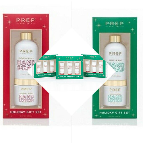 PREP Your Skin Hand Soap & Lotion Box Sets