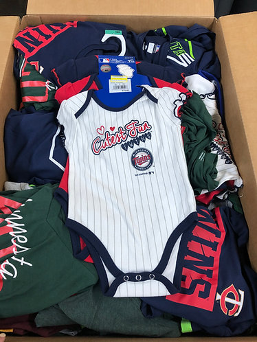 Case Lot Of Licensed Team Apparel - 120 Units - Shelf Pull Condition