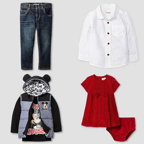 Case Lot: T*RGET Babywear -New Overstock Condition!