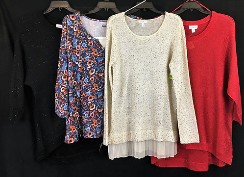 Case Lot: Plus Size Clothing - 92 Pieces - New Shelf Pulls - Manifested