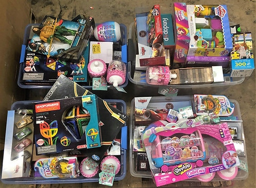 Pallet of Toys & Games - New Overstock & Shelf Pulls