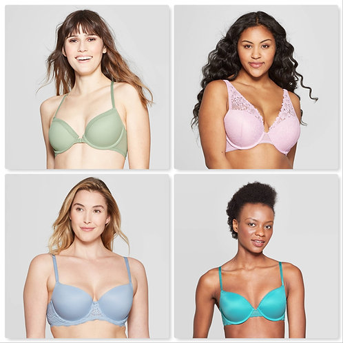 Case Lot of T@RGT Bras - Manifested - 40 Units - $619.60 Orig. Retail
