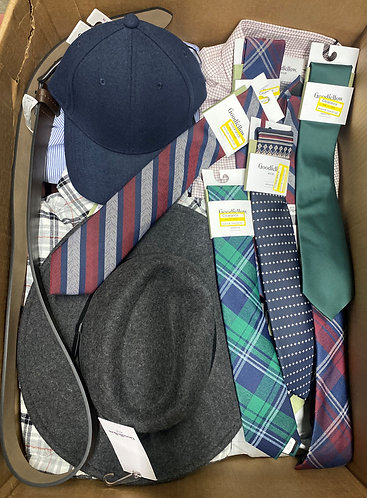 Case Lot of Men's Apparel - 58 Units - Shelf Pull Condition