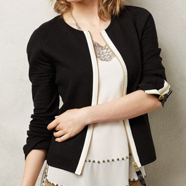 Coco + Carmen Quilted Signature Jacket