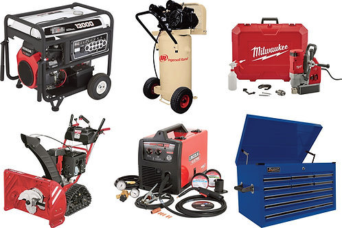 Tool & Equipment Truckload - $79,562 Retail Value