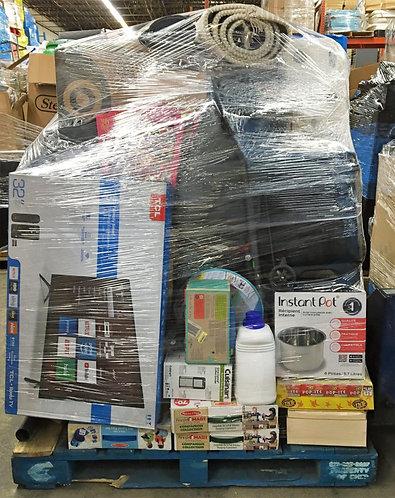 Manifested T@RGT General Merchandise Pallet - 190 Units - $3,149 Orig. Retail