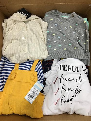 Case Lot of Kids clothing - 37 Units - Manifested - Shelf Pulls