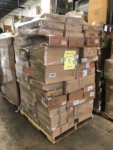 T@RGT DOT COM Overstock Pallet - Manifested -  906 Units - $8,531 Orig. Retail