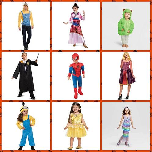 Case Lot of Halloween Costumes - 46 Units -Manifested -Shelf Pulls
