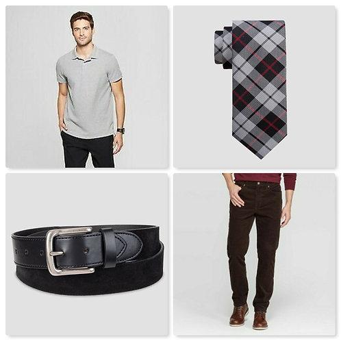 Case Lot of Men's Clothing - 81 Units - Manifested - Shelf Pulls