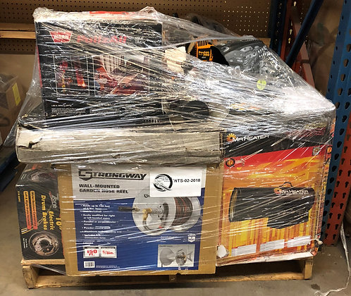 3 Pallets of Tools - $11,386 Retail Value - Salvage Condition