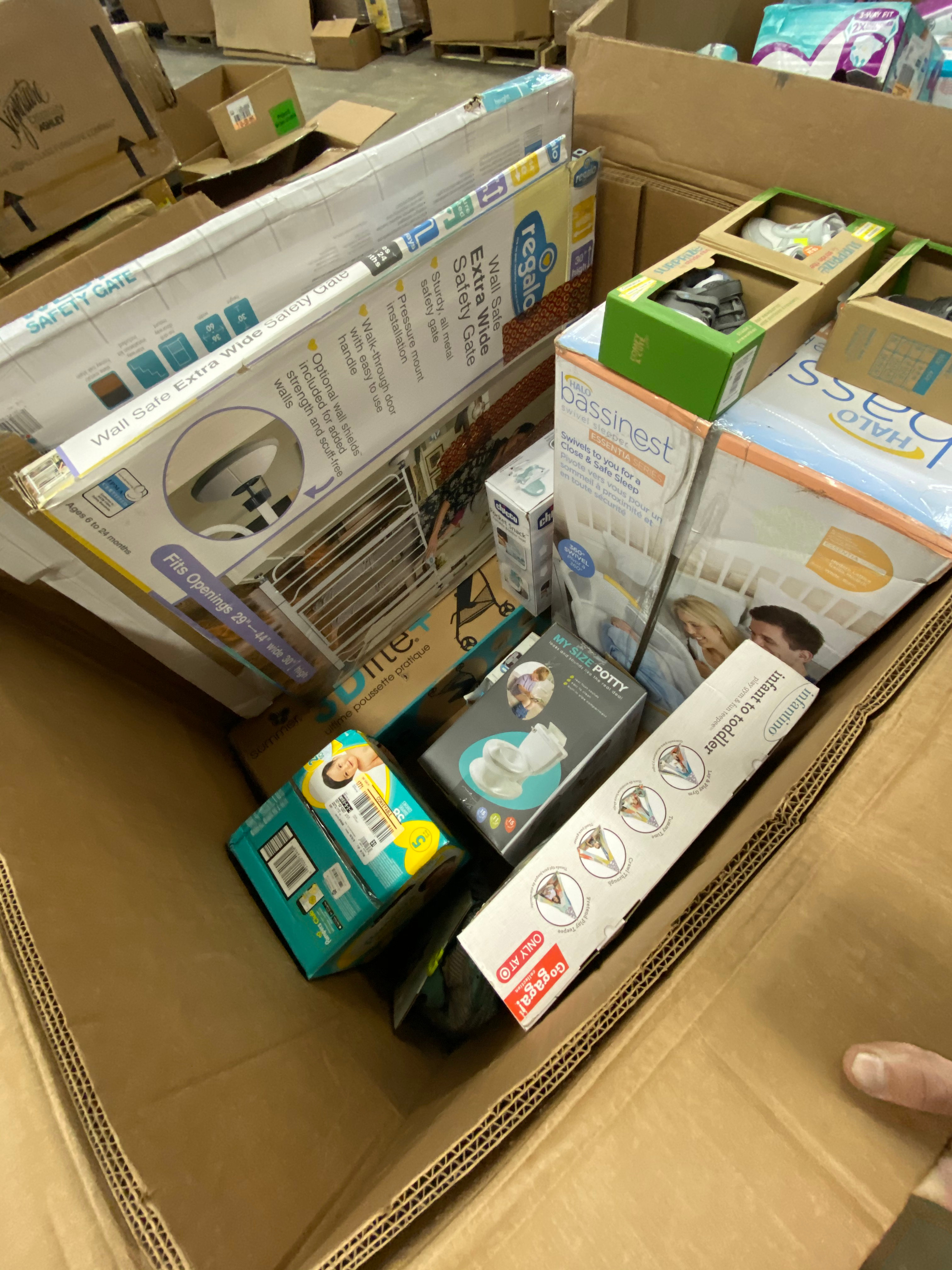 Baby Merchandise Pallet - 78 Units - Unmanifested ...