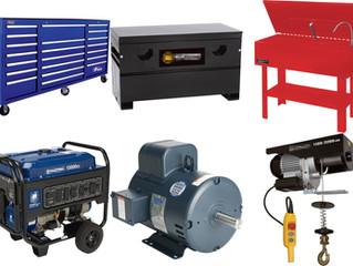 Tool & Equipment Truckload - $67,415 Retail Value - Sale Price: $13,855.77