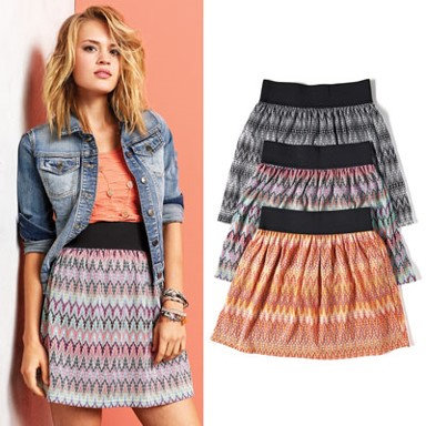 Coco + Carmen Solstice Skirt Sunset