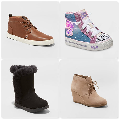 Case Lot of Assorted Shoes for Men, Women & Kids - 21 Units - Shelf Pulls