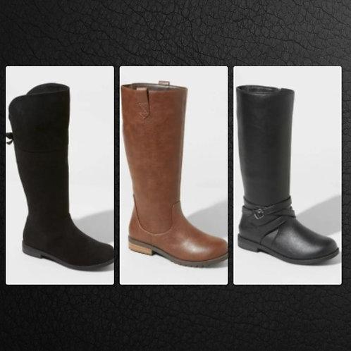Case Lot of Girls Fashion Boots by Cat & Jack - 24 Units - Shelf Pulls
