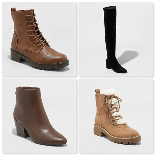 Case Lot of Women's Fashion Boots - 26 Units - Shelf Pull Condition