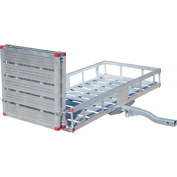 Cargo Hauler with Folding Ramp