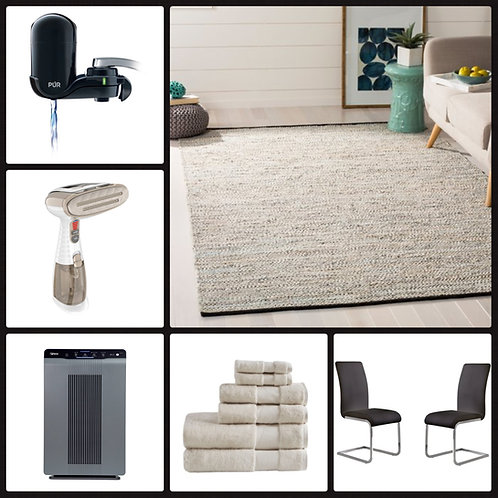 Manifested T@RGT Home Goods Pallet - 46 Units - $1,589 Orig. Retail