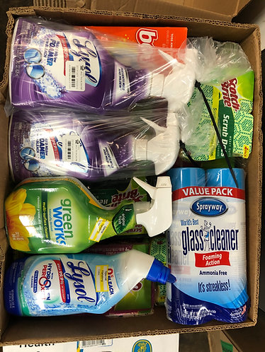 Case Lot of Cleaning Supplies - Sponges & Cleaners