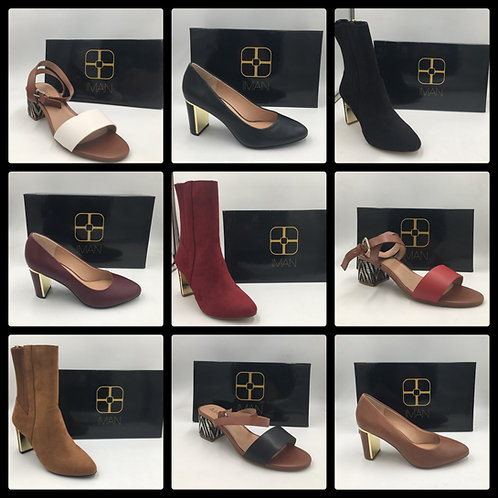 Pallet of Ladies Shoes & Boots - 42 Units - New Overstock Condition - Manifested