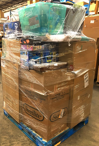 Manifested T@RGT General Merchandise Pallet - 210 Units - $4,605 Orig. Retail