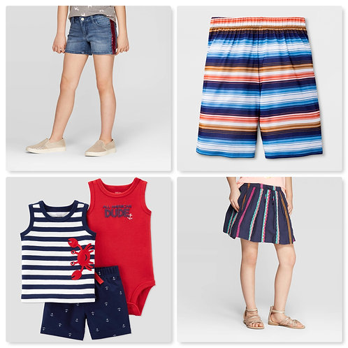 Case Lot of Kid's Clothing - 48 Units - Shelf Pulls