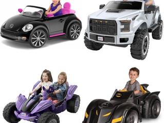 Truckload of Power Wheels