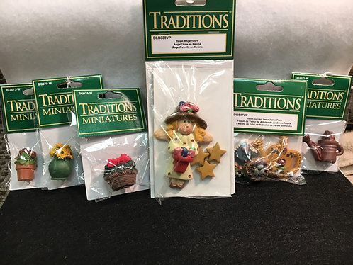 Traditions Miniatures Resin Figurines 1,584 Units, Retail Value $6,320