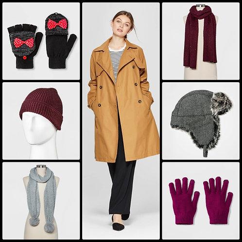 Case Lot of Winter Wear for Men, Women & Kids - 103 Units - Shelf Pulls