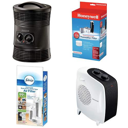 Case Lot of Heaters, Filters & More - Shelf Pulls