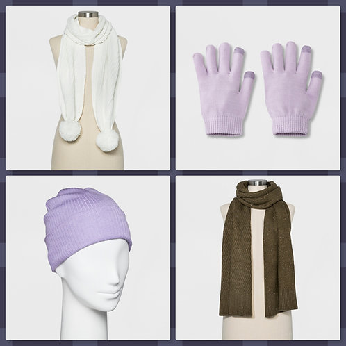 Case Lot of Winter Gear for Women & Kids - 29 Units - Shelf Pulls - Manifested