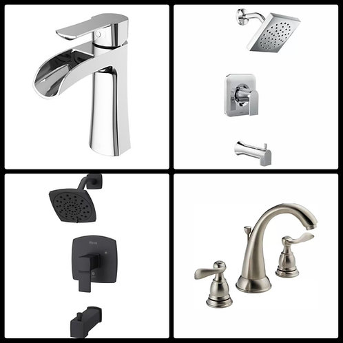 Case Lot of Faucets by Pfister, Delta, Vigo & More - 11 Units - Manifested