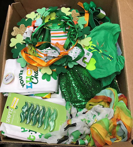 Case Lot Of St. Patrick's Day Merchandise - 110 Units - Shelf Pull Condition