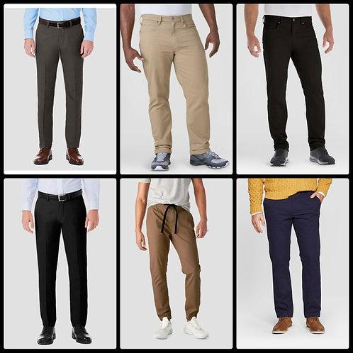Case Lot of Assorted Men's Pants - 29 Units - Manifested - Shelf Pulls