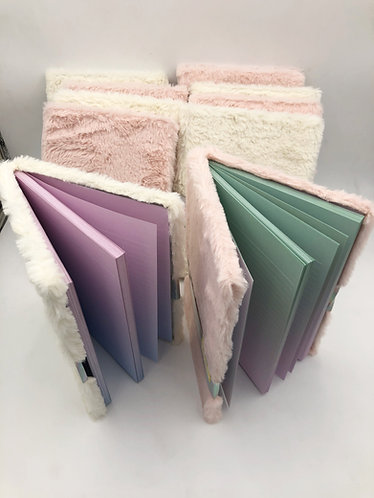 Case Lot of Fuzzy Journals - 34 Units - Shelf Pull Condition