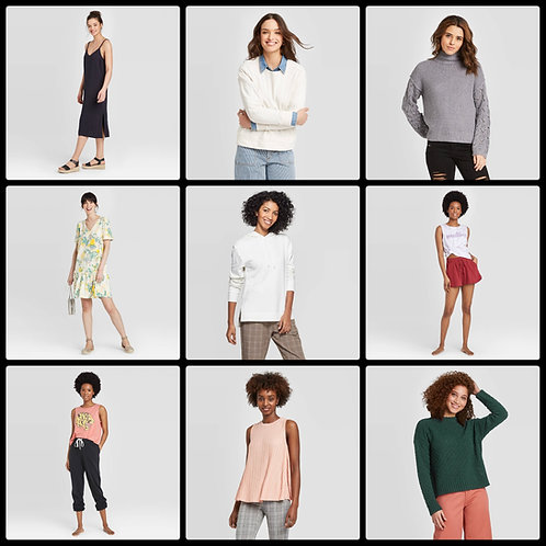 T@RGT Overstock Women's Apparel - 219 Units - Manifested