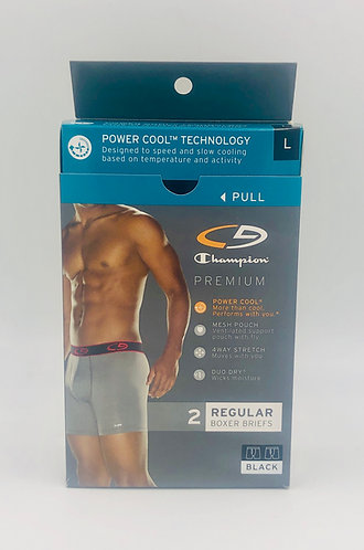 Champion C9 Premium Men's Boxer Briefs - New Case Packed