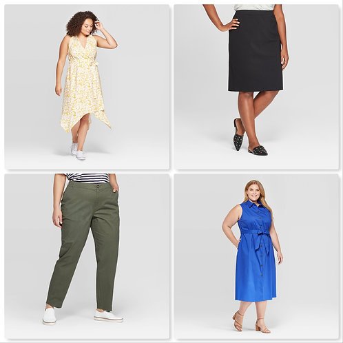 Case Lot of Plus Size Women's Apparel - Shelf Pull Condition- Manifested