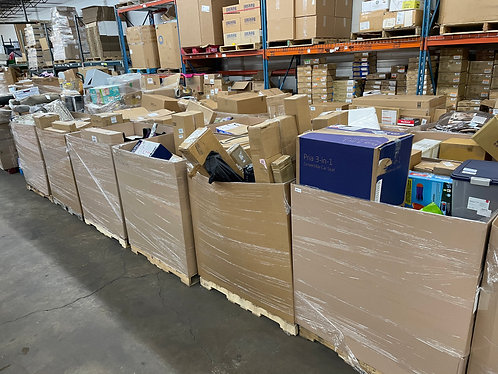 AMZ Mediums Pallets - Unmanifested - Customer Returns