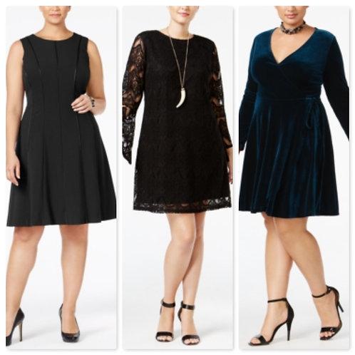 Case Lot: High-End Dept. Store Plus Size Dresses - Manifested