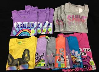 Case Lot of Kid's Clothing - 132 Units - New Shelf Pulls - Manifested