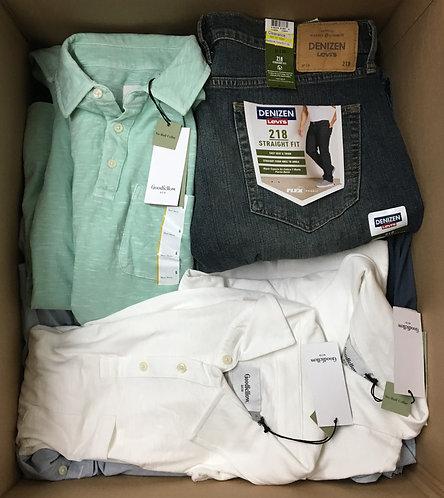 Case Lot of Men's Apparel - 51 Units - Shelf Pull Condition