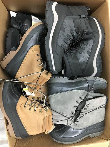 Case Lot of Winter Boots for Men & Women 14 Units - Shelf Pulls