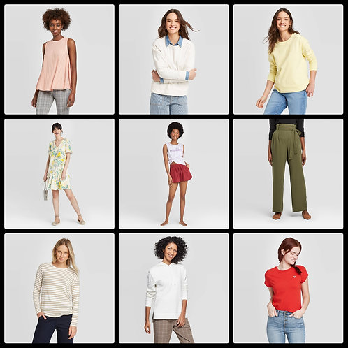 T@RGT Overstock Women's Apparel - 252 Units - Manifested