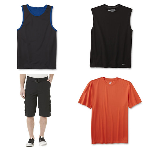 Case Lot: Mens Clothing -  83 Units - New Shelf Pulls - Manifested