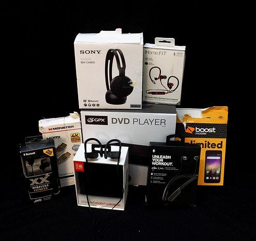 Case Lot of Electronics - Customer Returns - Manifested