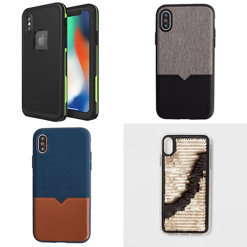 Case Lot: iPhone Cases - Shelf Pulls - Manifested -$1,572 Orig. Retail
